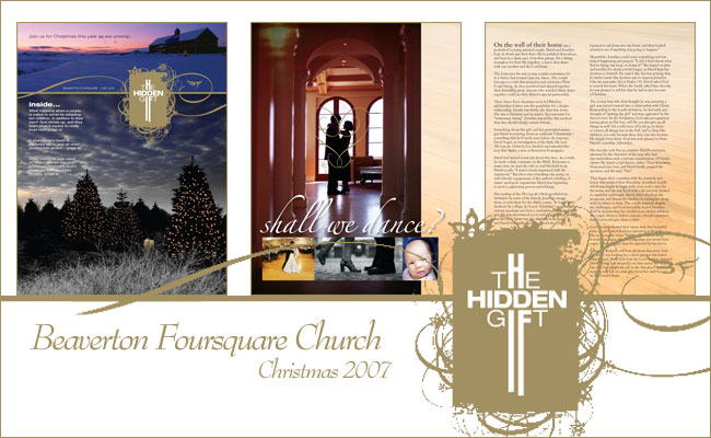 The Hidden Gift magazine