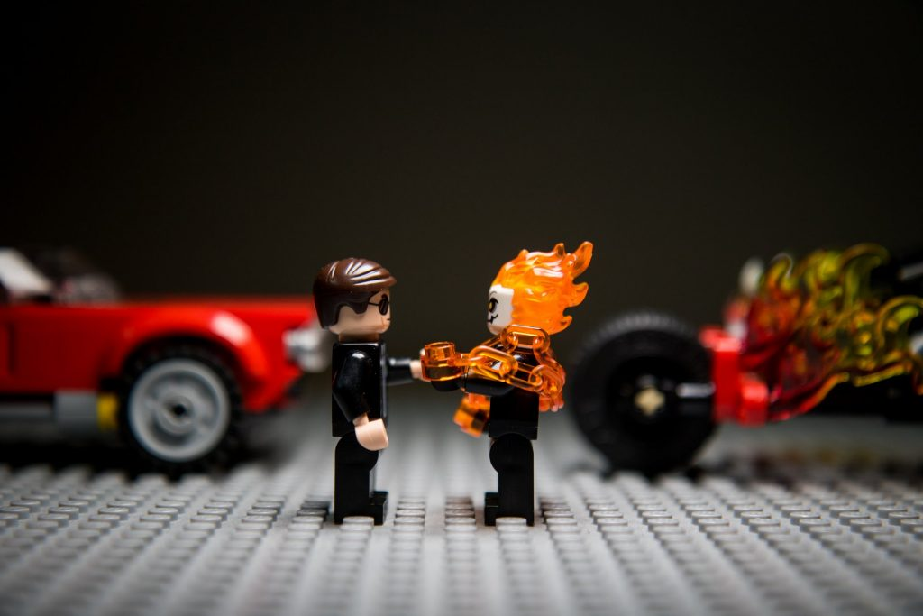 Coulson and Ghost Rider 001