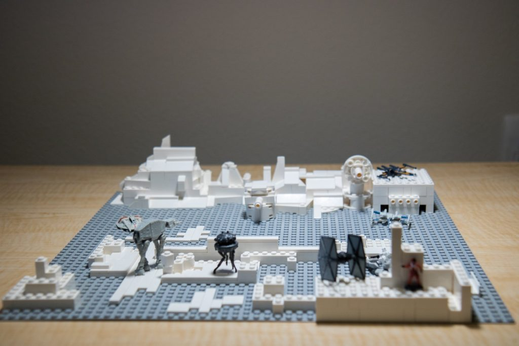 Requested by Bruce: A Star Wars Hoth battleground
