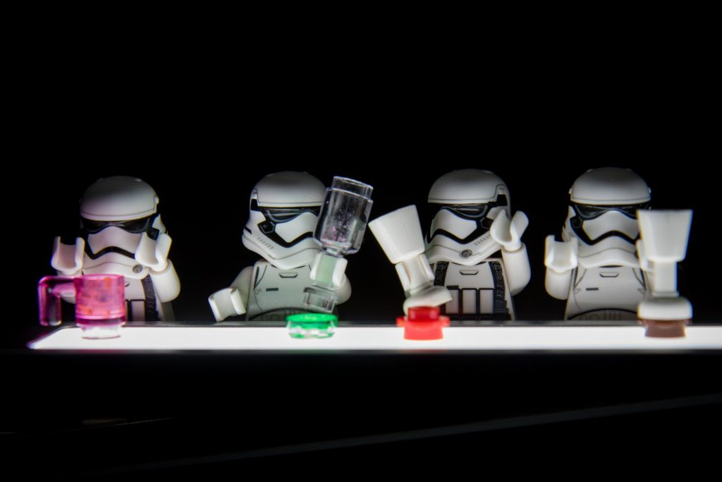 Stormtroopers after hours